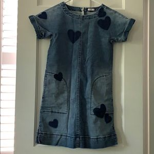 Crewcuts denim dress